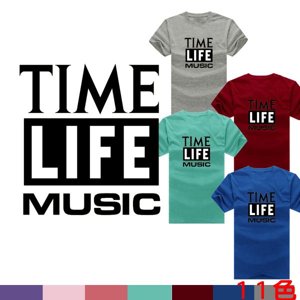 ◆ 出貨◆T恤.情侶裝.班服.MIT 製. 配對情侶裝.客製化.純棉短T.TIME LIF