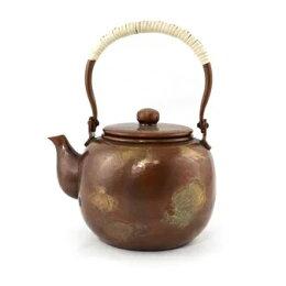 日本銅壺 手工 茶具 養生 茶壺 沖泡 普洱茶