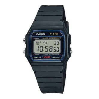 CASIO 卡西歐/復古電子錶/F-91W-1SDG