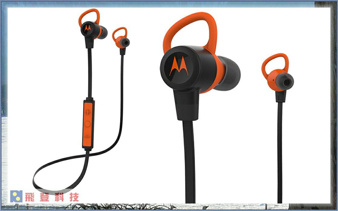 【藍芽耳機】Motorola Verve Loop+ 防水版 IP57 運動藍牙無線耳機通話/音樂 先創公司貨