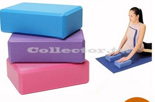 【B16041901】環保瑜伽磚 瑜珈枕 瑜伽輔助用品 高密度EVA健身磚