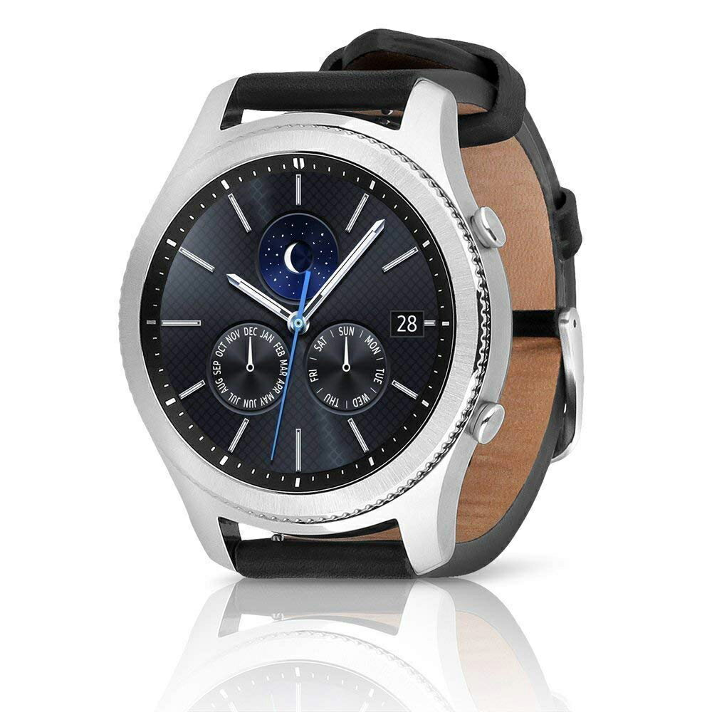 Samsung Gear S3 Classic SM-R775V Verizon 4G LTE GPS Water-Resistance  Smartwatch **Repacked in fresh and Secure Packaging**