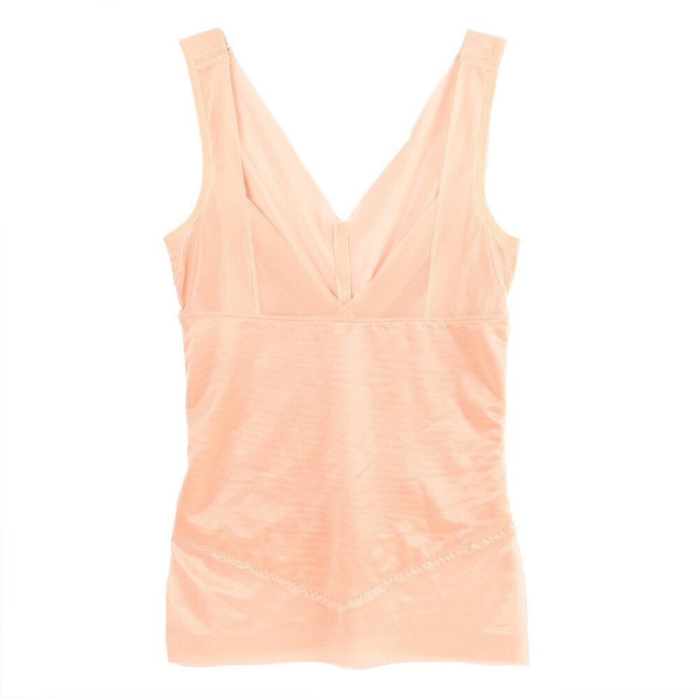 【Emon】420丹 美體無痕機能塑身上衣束衣(膚) 1