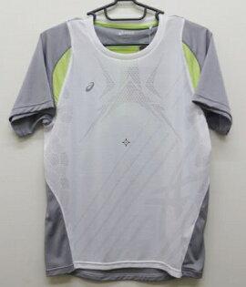 [陽光樂活]ASICS亞瑟士男慢跑T恤XXK888-01吸汗速乾抗UV抗菌防臭
