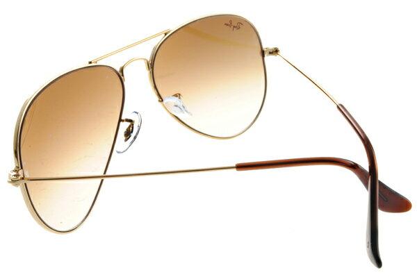 Ray Ban 雷朋 金邊棕鏡 太陽眼鏡 RB3025 6