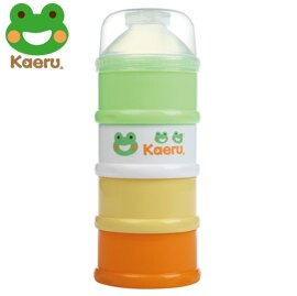 哈皮蛙 Kaeru 彩色四層奶粉盒 x1入【悅兒園婦幼生活館】