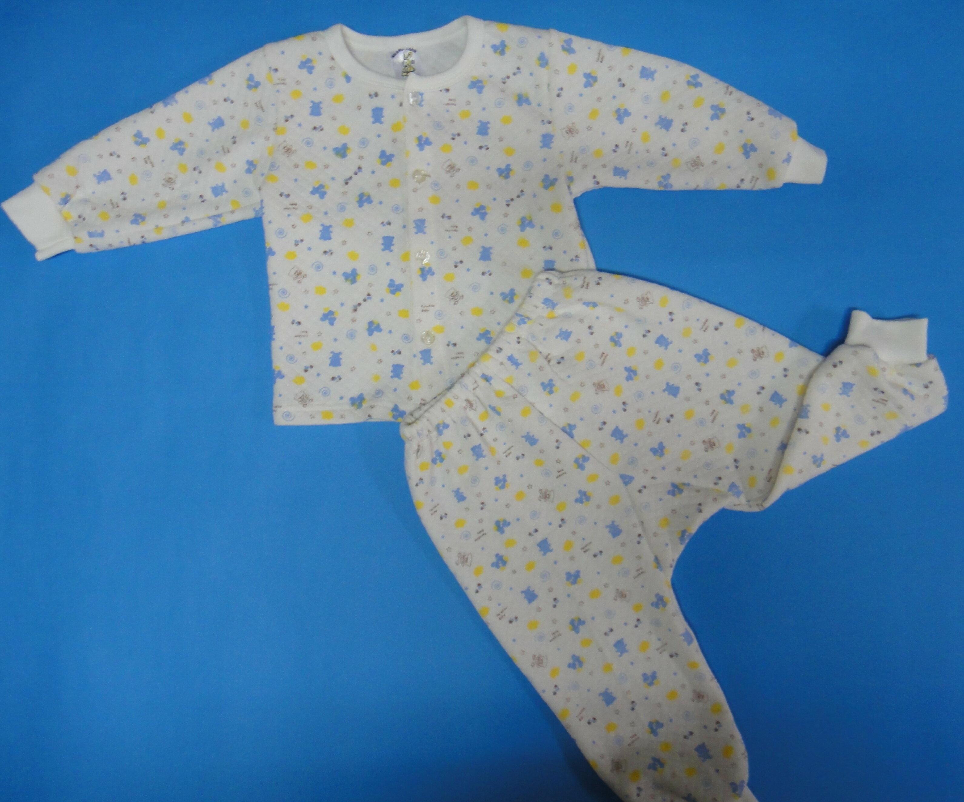 新款嬰幼兒居家服~小熊碎花款