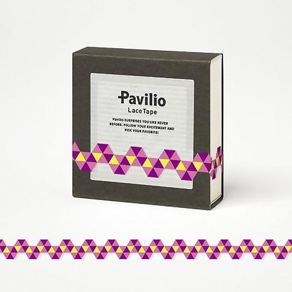 【日本Pavilio】風格膠帶MINI系列F-MI17SP螺旋(粉紅)捲