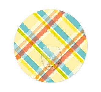 【2EASY】普普風系列 單掛鉤-格紋SCH01010101