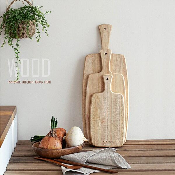 戀家小舖:木質餐板長型【韓國ACACIA溫莎木系列-長型木製餐板-大】戀家小舖
