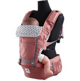 *babygo*韓國 Pognae-No.5超輕量機能坐墊型揹巾【紐約紅 】^ ^買就送護唇膏