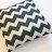 黑色波浪  棉麻材質   45cmX45cm 花色獨特 觸感扎實 0