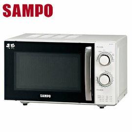 ★杰米家電☆【聲寶SAMPO】20L定時無轉盤機械式微波爐∕RE-P201R