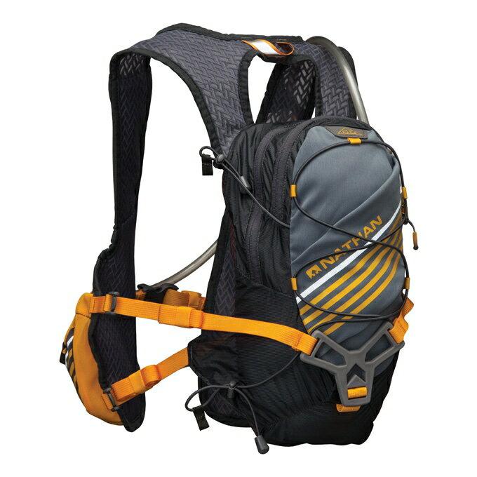NATHAN - Zelos熱血水袋背包(灰) NA5030NG 登山包 送套頭式汗樂導汗帶顏色任選