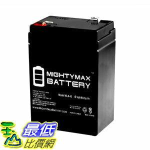 7美國直購  Mighty Max Battery 6V 4.5AH SLA Battery Replacement for Carpenter Watchm