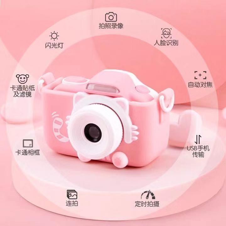 新款相機迷你兒童相機X2 可拍照便攜單反照相機玩具男女小孩禮物