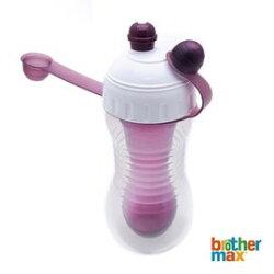 【淘氣寶寶】英國 Brother Max 雙層冷飲壺 紫色 340ml