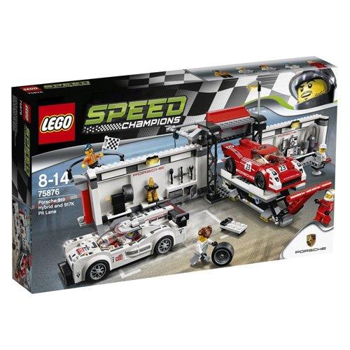 【LEGO 樂高積木】SPEED 賽車系列 - 保時捷919&917動力維修站 LT-75876