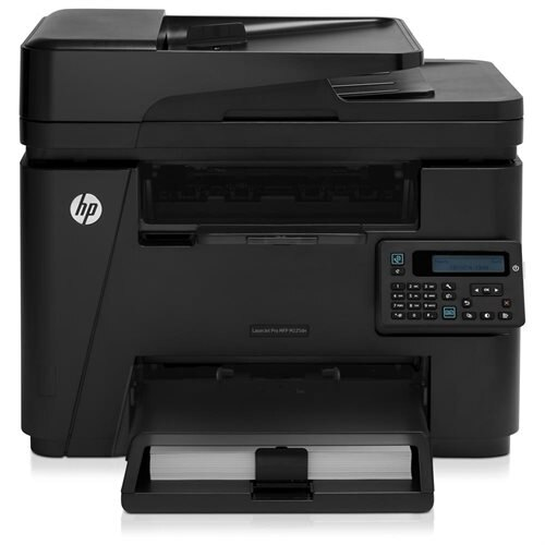 HP LaserJet Pro M225DN Laser Multifunction Printer - Monochrome - Plain Paper Print - Desktop - Copier/Fax/Printer/Scanner - 25 ppm Mono Print - 600 x 600 dpi Print - 25 cpm Mono Copy LCD - 1200 dpi Optical Scan - Automatic Duplex Print - 250 sheets Input 0