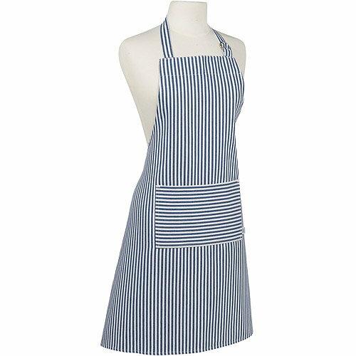 《NOW》平口單袋圍裙(水手藍)