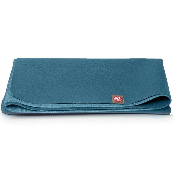 Manduka Travel Mat 天然橡膠旅行瑜珈墊 1.5mm 礦石藍 Delmara