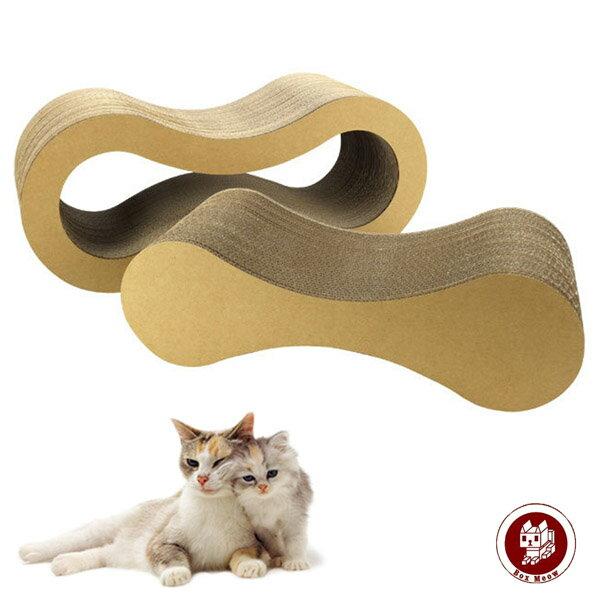 CS001瓦楞貓抓板-懶骨頭