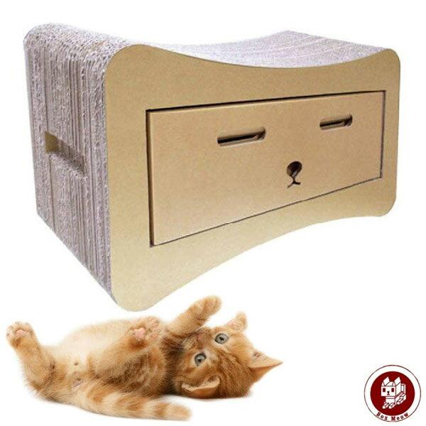BoxMeow瓦楞貓抓板-貓抽屜(CS015)5217SHOPPING