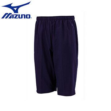 32TB655214(深丈青)Slim Fit合身版素色平織 短褲~美津濃MIZUNO~