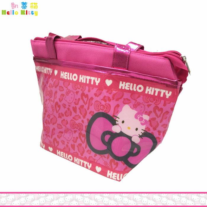 大田倉 日本進口正版 Hello Kitty凱蒂貓 手提保冷袋  保冷 保溫袋 便當袋 飯盒袋 收納盒 072721