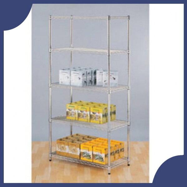 『商款熱銷款』【辦公家具】承重型波浪鐵架系列S45-90180-5鐵架櫃子收納架子置物