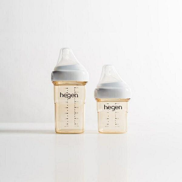 贈原廠紙袋【Hegen】祝賀新生經典奶瓶安心禮 新生禮盒 小金奶瓶-米菲寶貝 2
