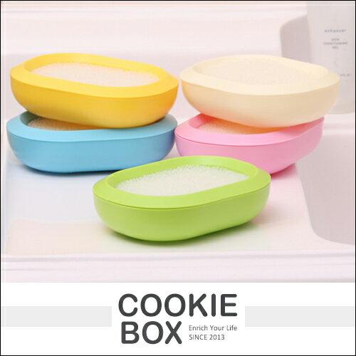 維卡 多功能 香皂盒 雙層 肥皂盒 海綿 衛浴 廁所 肥皂盤 速乾 雙層 不積水 *餅乾盒子*