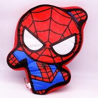 漫威英雄Marvel 周邊商品推薦【UNIPRO】Marvel 蜘蛛人 Spider Man Q版造型 抱枕 靠背枕 美國隊長3 英雄內戰 漫威正版授權