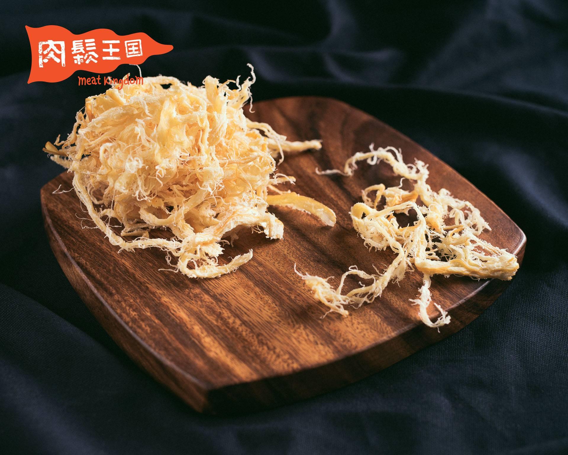 肉鬆王國 『蜜汁魷魚絲』☞新鮮微甜☞國王放鬆包 75g±10g