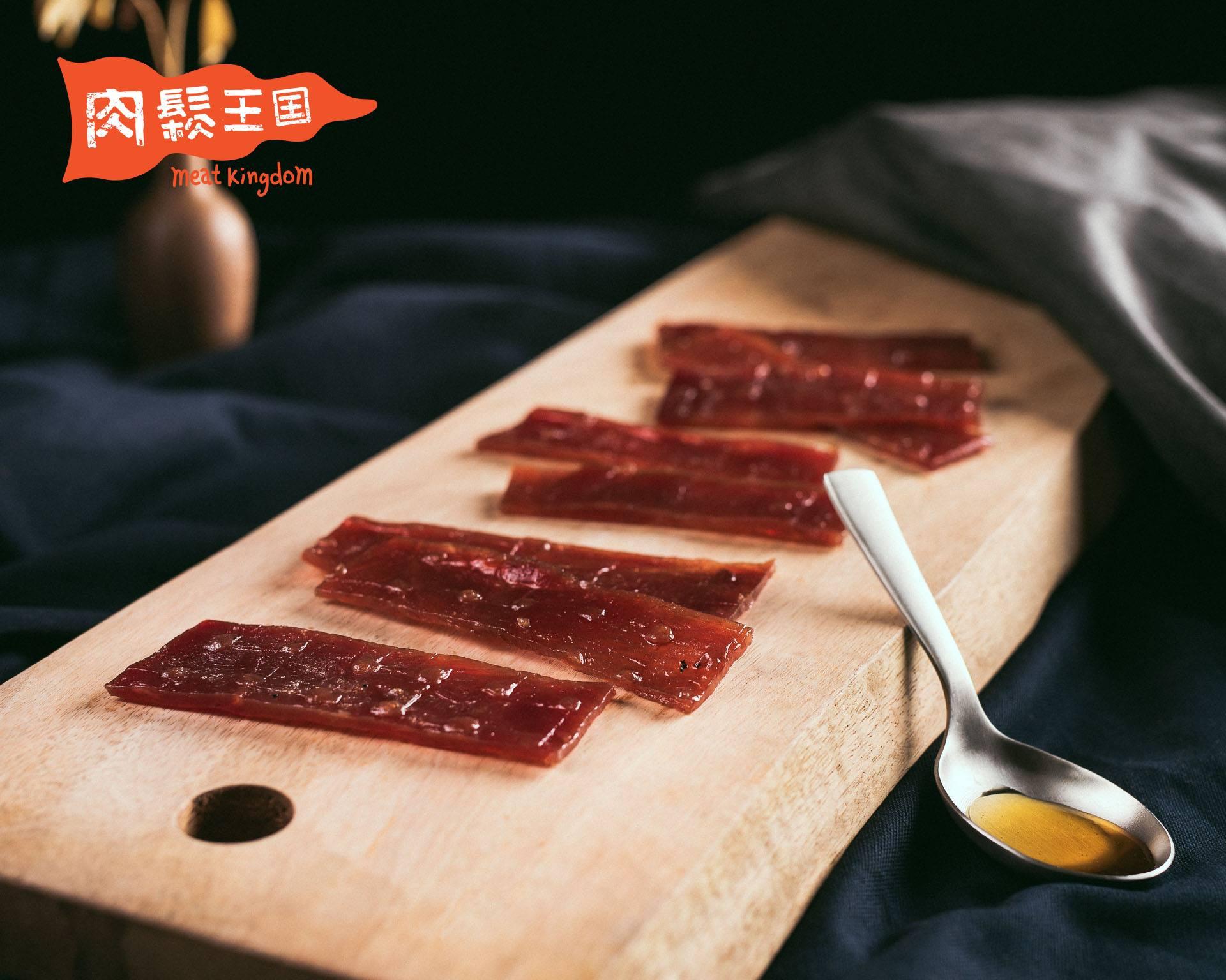 肉鬆王國 『蜜汁肉乾』?炙燒蜜汁?國王放鬆包 100g±10g