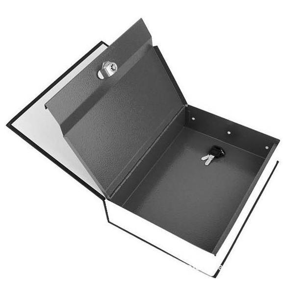 Dictionary  shape security box with Lock and Key Medium 5
