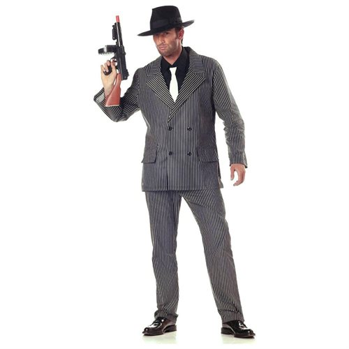 California Costume Collection 17246 Gangster 20s Adult Costume Size Medium 0