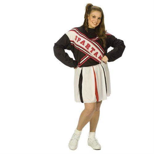 Fun World 32621 SNL Spartan Cheerleader Female Plus Adult Costume Size Plus 16-24 0