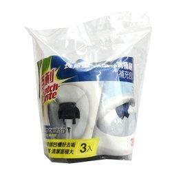 (卡司 現貨) 3M 百利 長效型 菜瓜布 馬桶刷 補充包 3入 清潔用品