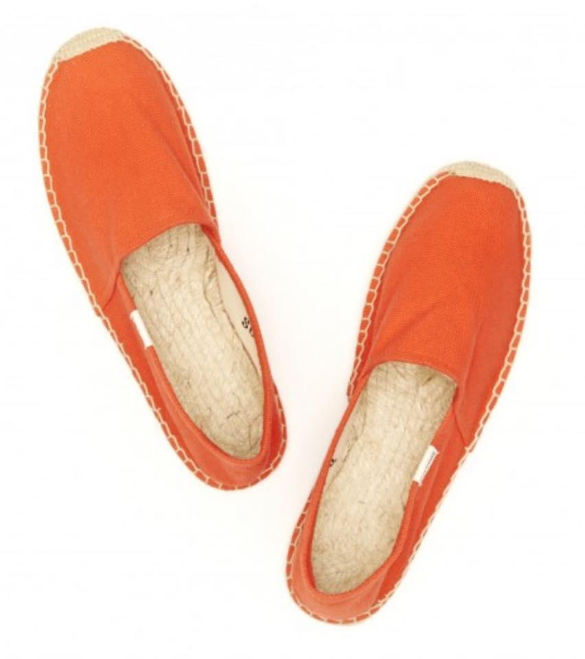 【Soludos】美國經典草編鞋-基本款草編鞋-橘【全店免運】 4
