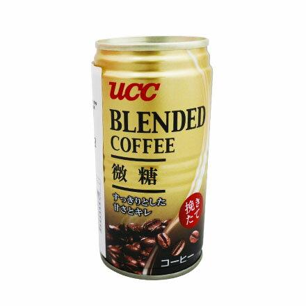 【敵富朗超巿】UCC BLENDED咖啡飲料 185g 有效日期:2018.04.19