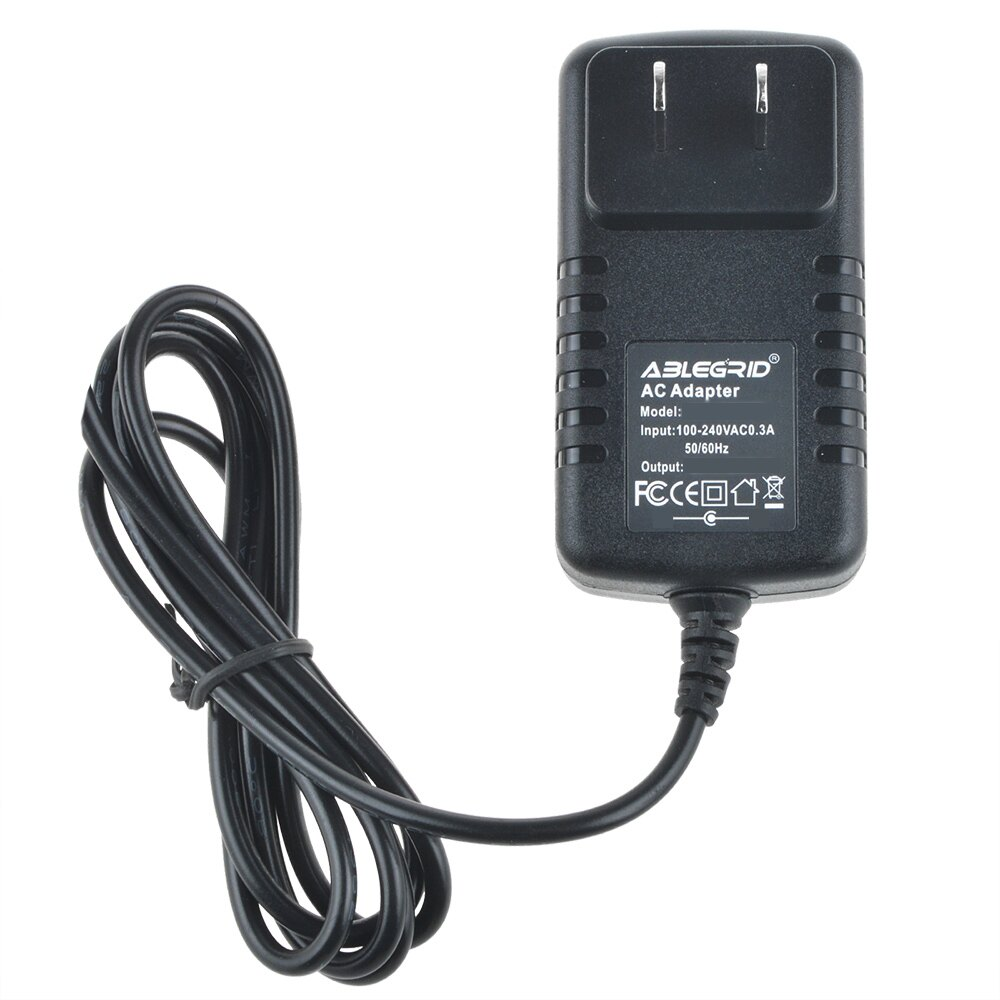 ABLEGRID 9V AC DC Adapter For Panasonic PQLV206 Telephone Phone Power  Supply Cord Charger