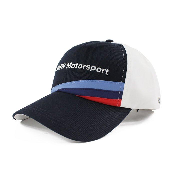 美國百分百【Puma BMW Motorsport】車隊 帽子 配件 棒球帽 男帽 遮陽帽 鴨舌帽 深藍白 G861