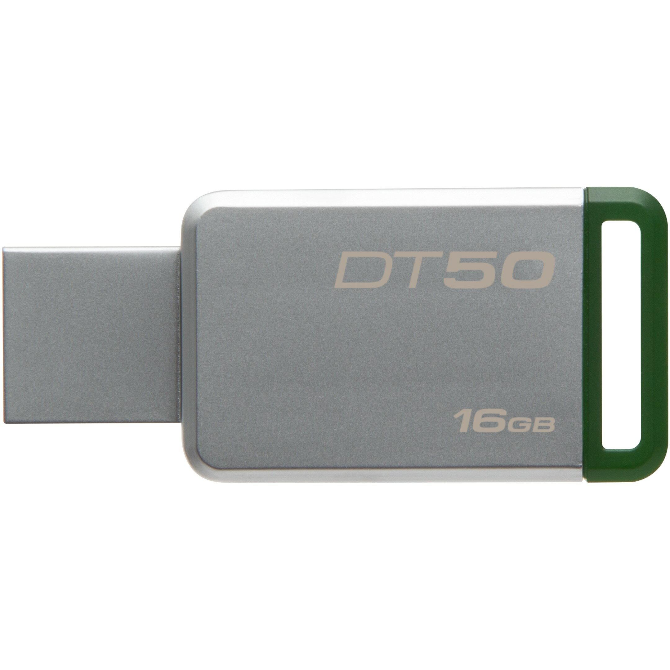Kingston 16GB DataTraveler 50 16G DT50 USB 3.1 Gen 1 USB 3.0 30MB/s Flash Pen Thumb Drive DT50/16GB 1