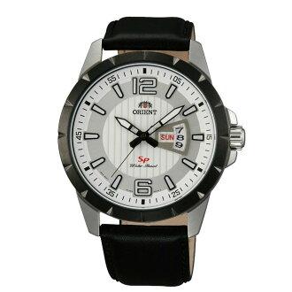 Orient 東方錶(FUG1X003W)運動風石英腕錶/白面43mm