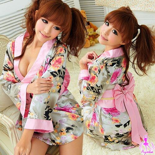 愛的蔓延 浪漫繽紛!二件式絕美和服組(角色扮演服 COSPLAY) 12030121