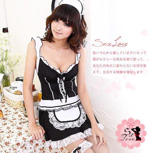 愛的蔓延:愛的蔓延-蜜桃寶貝‧精美蕾絲女僕裝DHZ-20100425