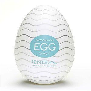 愛的蔓延 日本原裝進口TENGA-神奇蛋1號 WAVY(波浪型構造)DTG-01081297