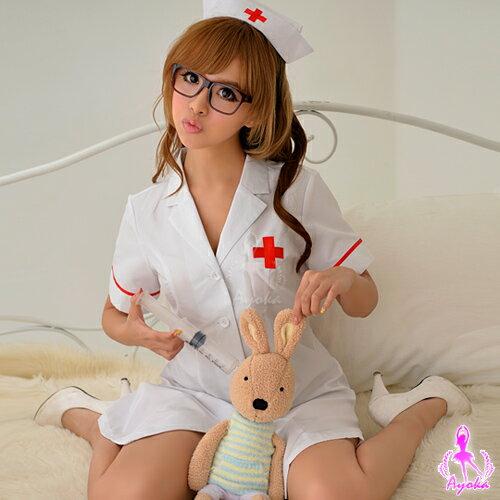 愛的蔓延COSPLAY純白俏麗護士角色扮演服KNA14030025