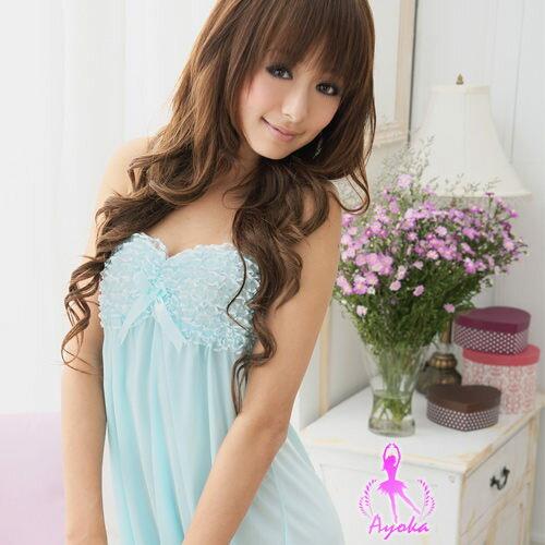 愛的蔓延 水漾柔情!甜蜜優雅性感睡衣 UNA-07020075-1